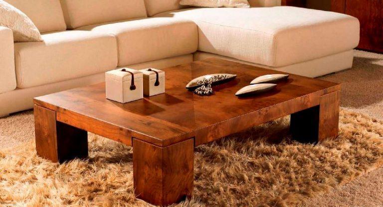 Журнальный столик деревянный своими руками