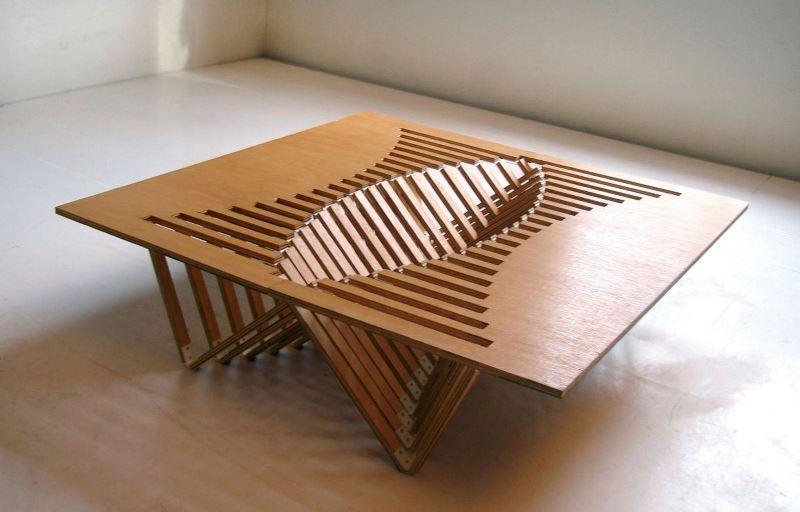 Складные столики из фанеры своими руками