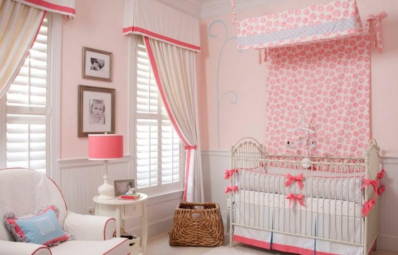 Шторы для детской комнаты для девочек своими руками