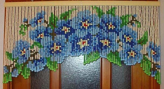 Как сделать шторы бусин своими руками
