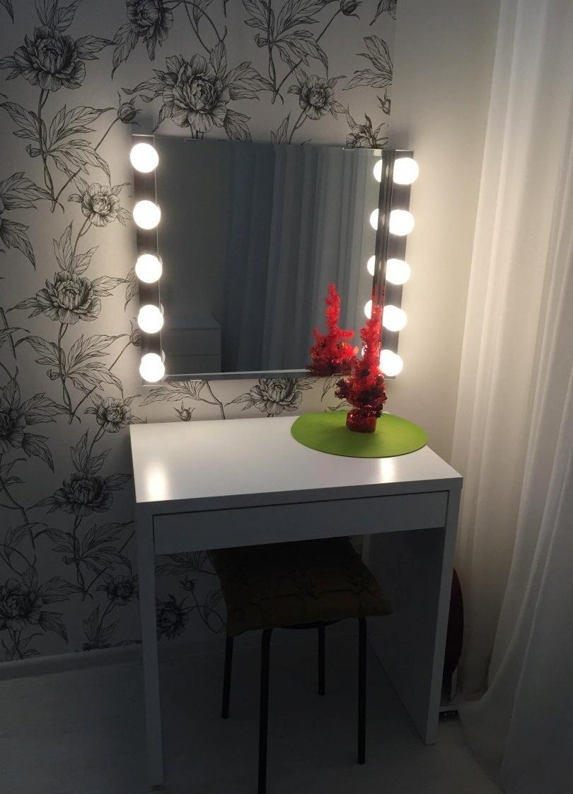 Туалетный столик с зеркалом своими руками фото