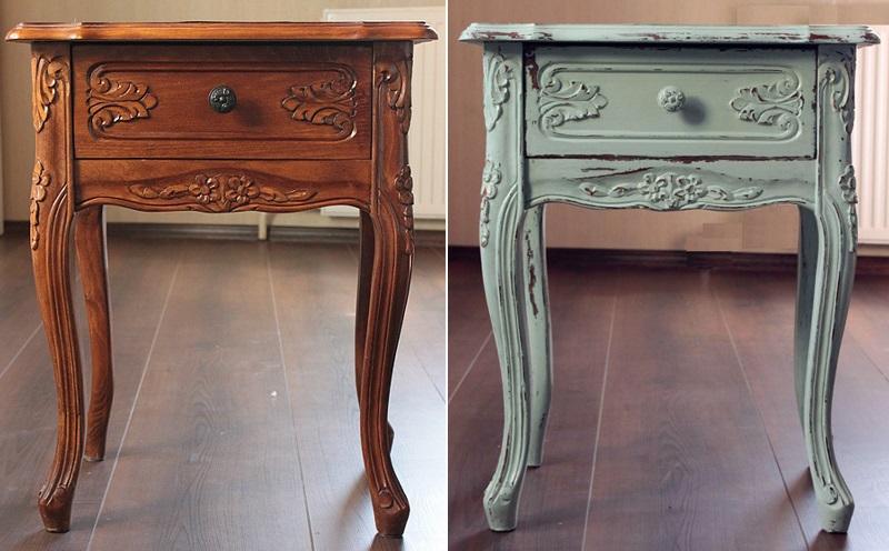 Реставрирование старой мебели своими руками 53