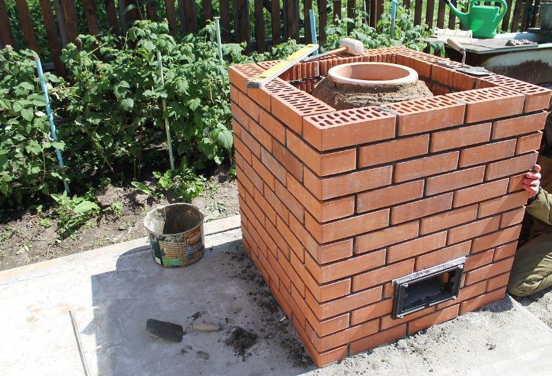 Как построить на даче тандыр