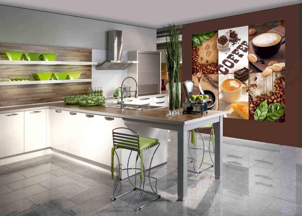 Идеиобоев для кухни