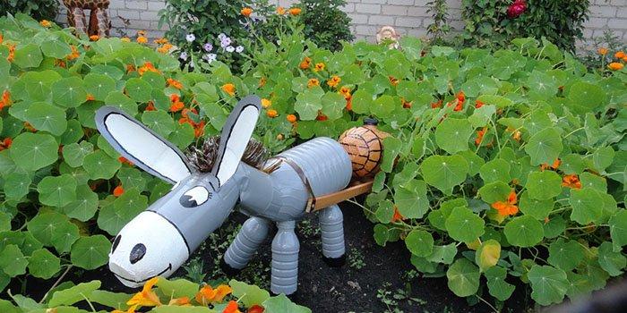 Поделки для детей своими руками для сада и огорода