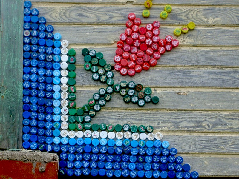Изделия своими руками из пластиковых пробок от пластиковых бутылок