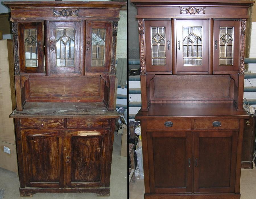 Реставрация металлической мебели