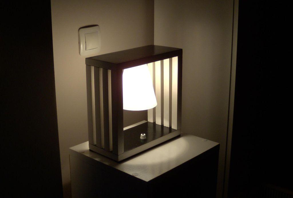 Комнатный светильник своими руками 42