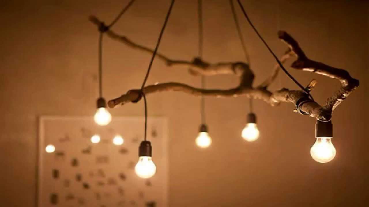 Светильник над столом своими руками