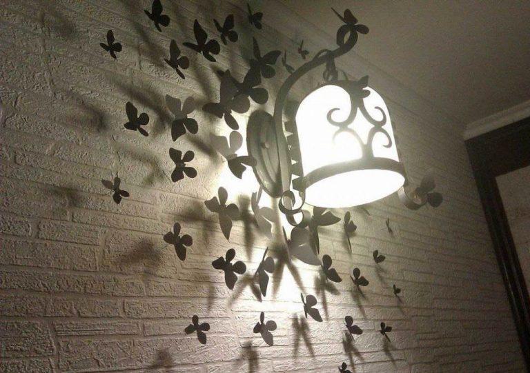 Люстра с бабочками как сделать 840