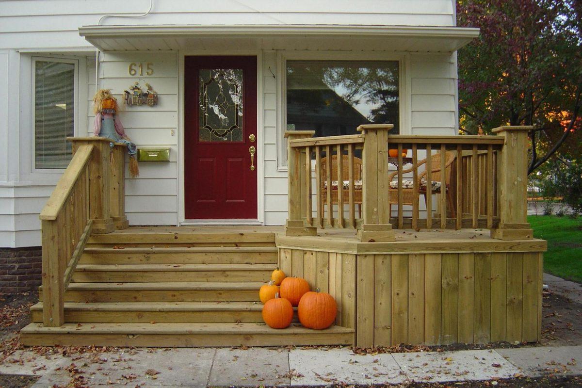 Как красиво сделать вход в частный дом
