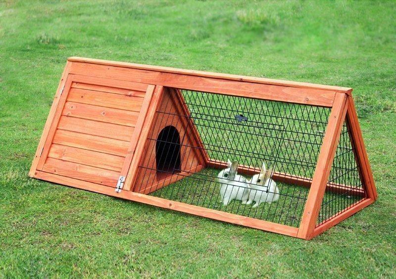 Как сделать домик для кролике