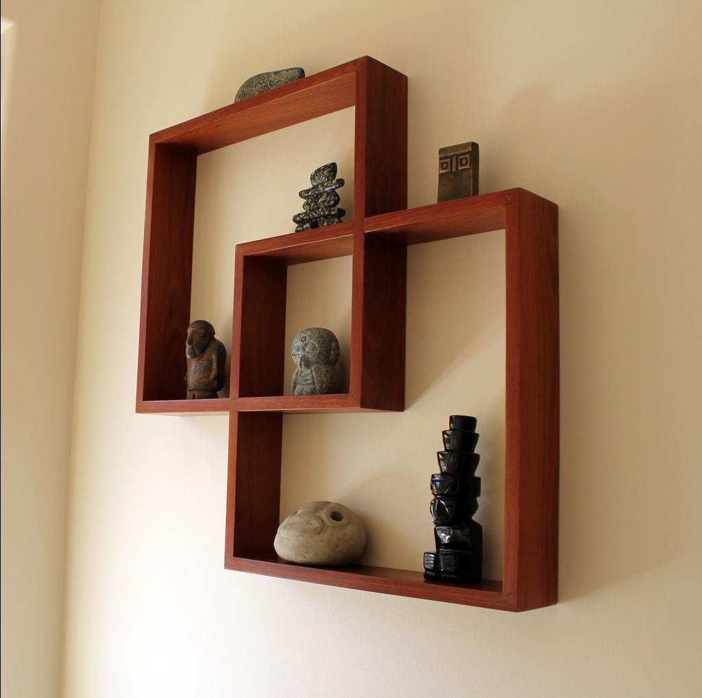Полки на стену из дерева своими руками фото
