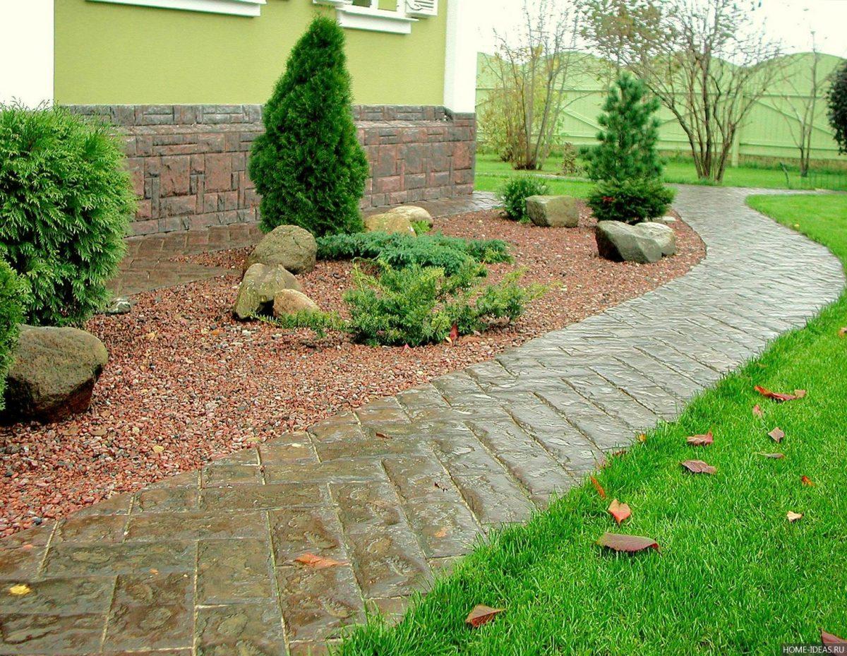 Дорожки из камня своими руками на даче и в саду: какой материал 4