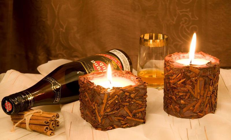 Как сделать восковую свечу в домашних условиях фото 339