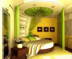 дизайн узкой спальни 50 фото интерьер длинной комнаты планировка