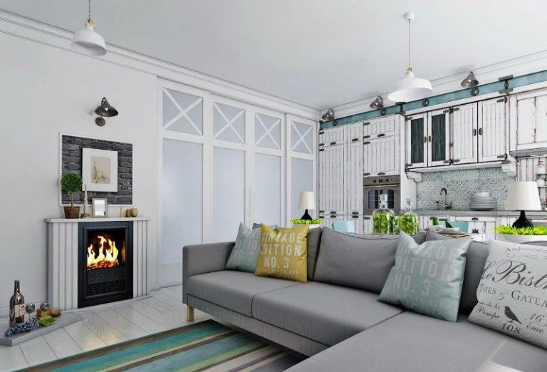 вас кухня-гостиная в скандинавском стиле фото земельных участков Финляндии