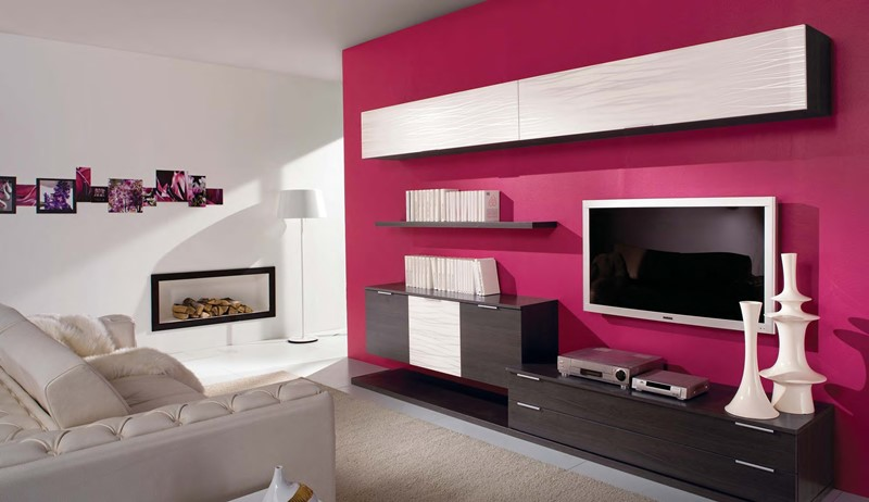 стенка в гостиную в современном стиле модерн хай тек арт деко