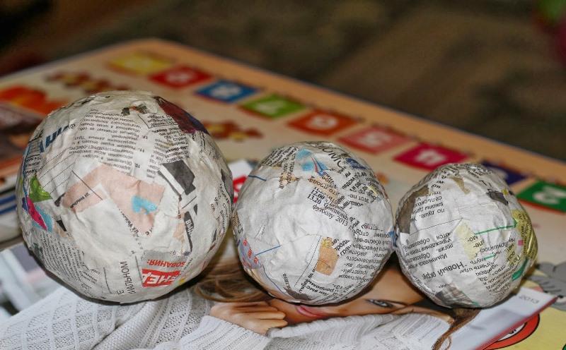 Как сделать шары для топиариев своими руками
