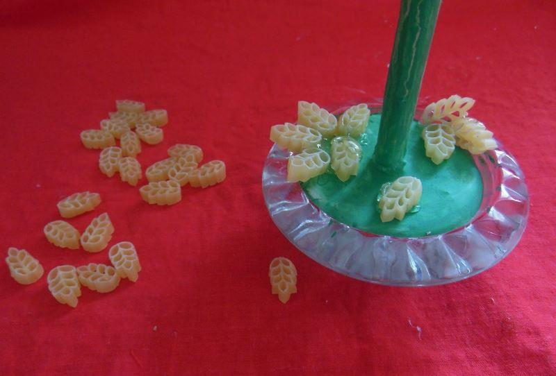 Как делать топиарии из макарон