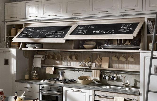 Как расположить рейлинги на кухне - установка 61