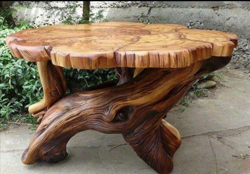 Красивая и необычная садовая мебель своими руками