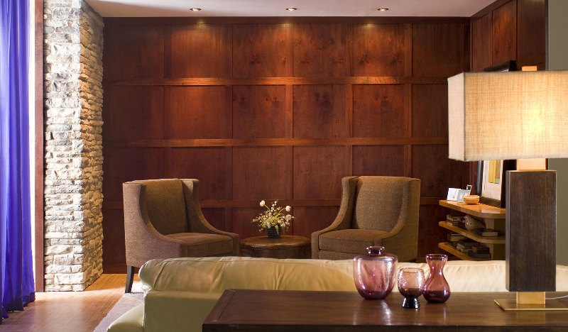 English Country House Style Panelling  Living Room