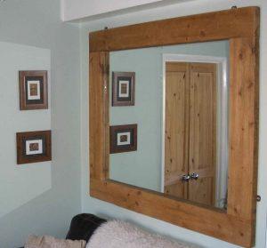 Как сделать зеркало в деревянной раме самостоятельно