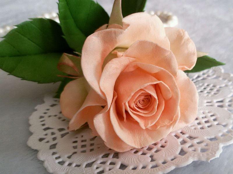 Что собой представляет роза из фоамирана?