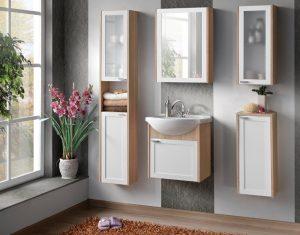 Выбор настенного шкафчика в ванную комнату