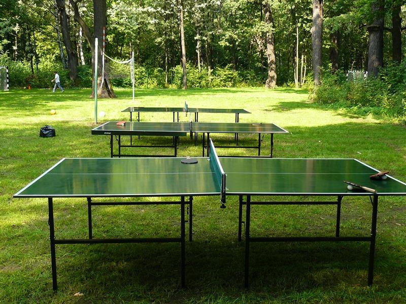 Какие бывают размеры теннисного стола?