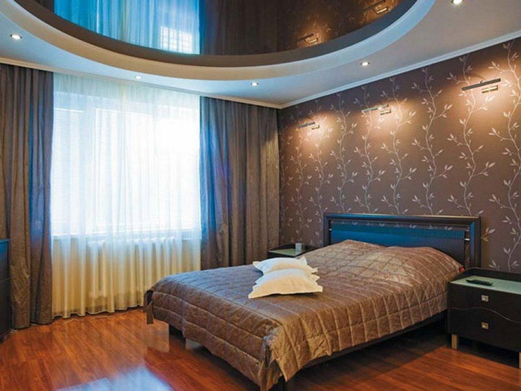 двухуровневые натяжные потолки для спальни фото как считаете вы