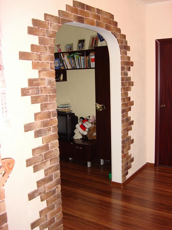 отношения отделка арки декоративным камнем в квартире фото мельхиоровых столовых приборов
