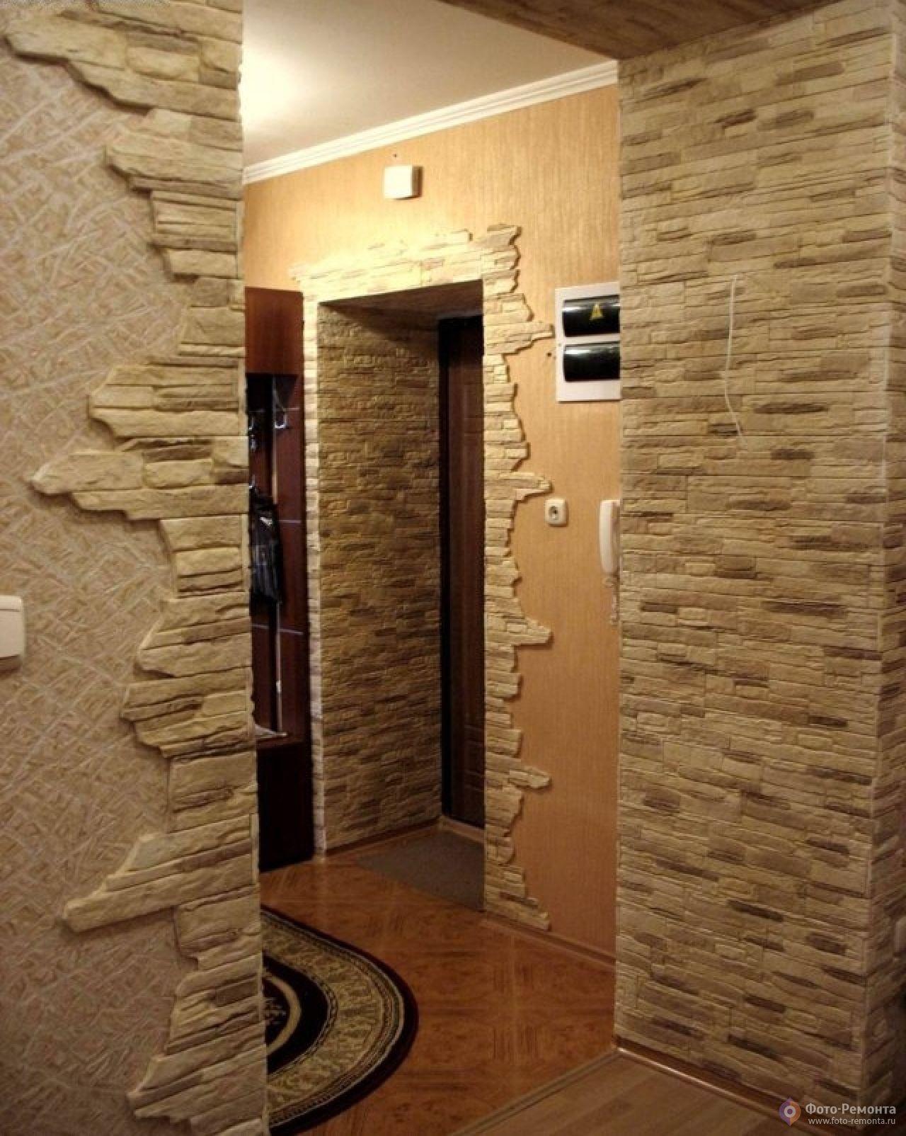может дизайн прихожей в квартире фото с камнем при котором господский