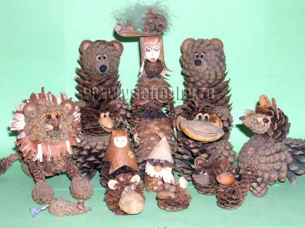 Лесные поделки своими руками фото 371