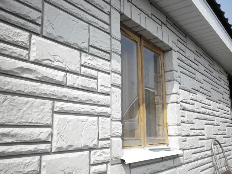 Сайдинг под камень: декоративный фасадный, отделка дома вини.
