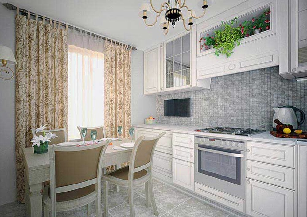 Телевизор в кухонном гарнитуре фото
