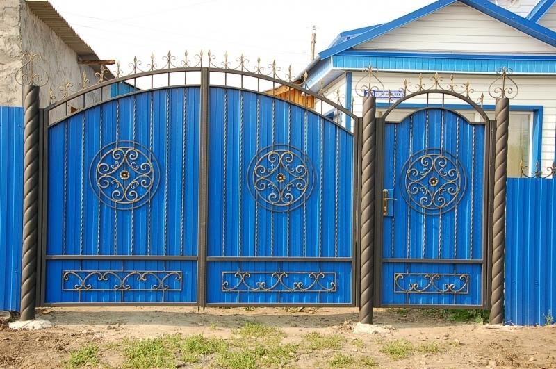 Ворота и калитки своими руками: их виды - Профнастил 71
