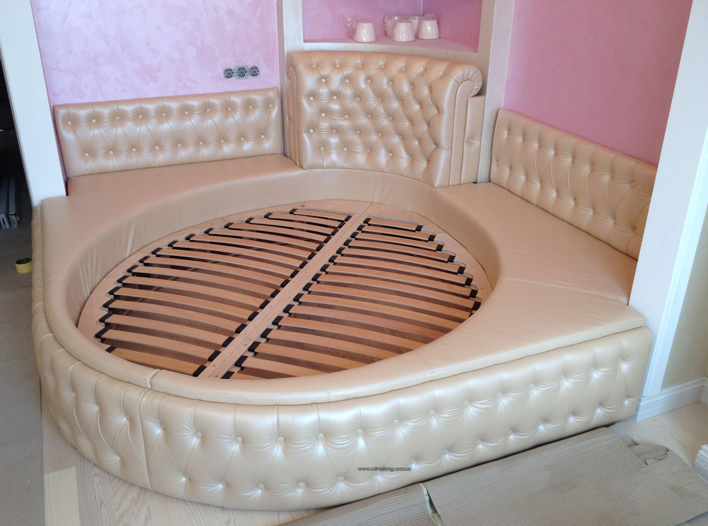 Круглая кровать своими руками видео фото 467