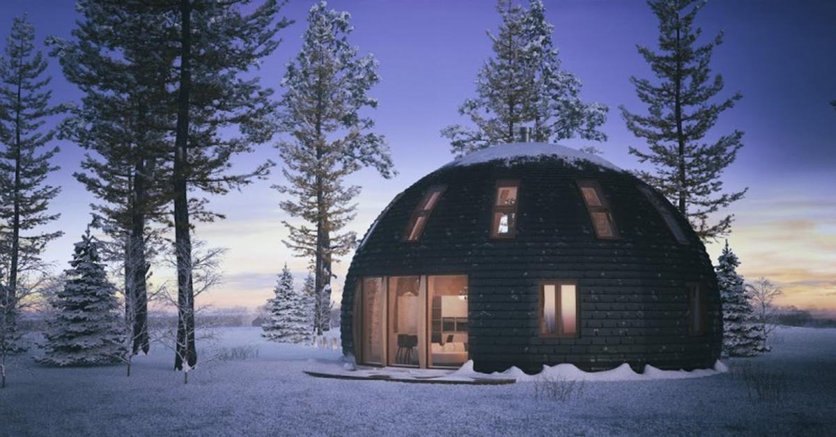Проекты купольных домов и особенности их строительства