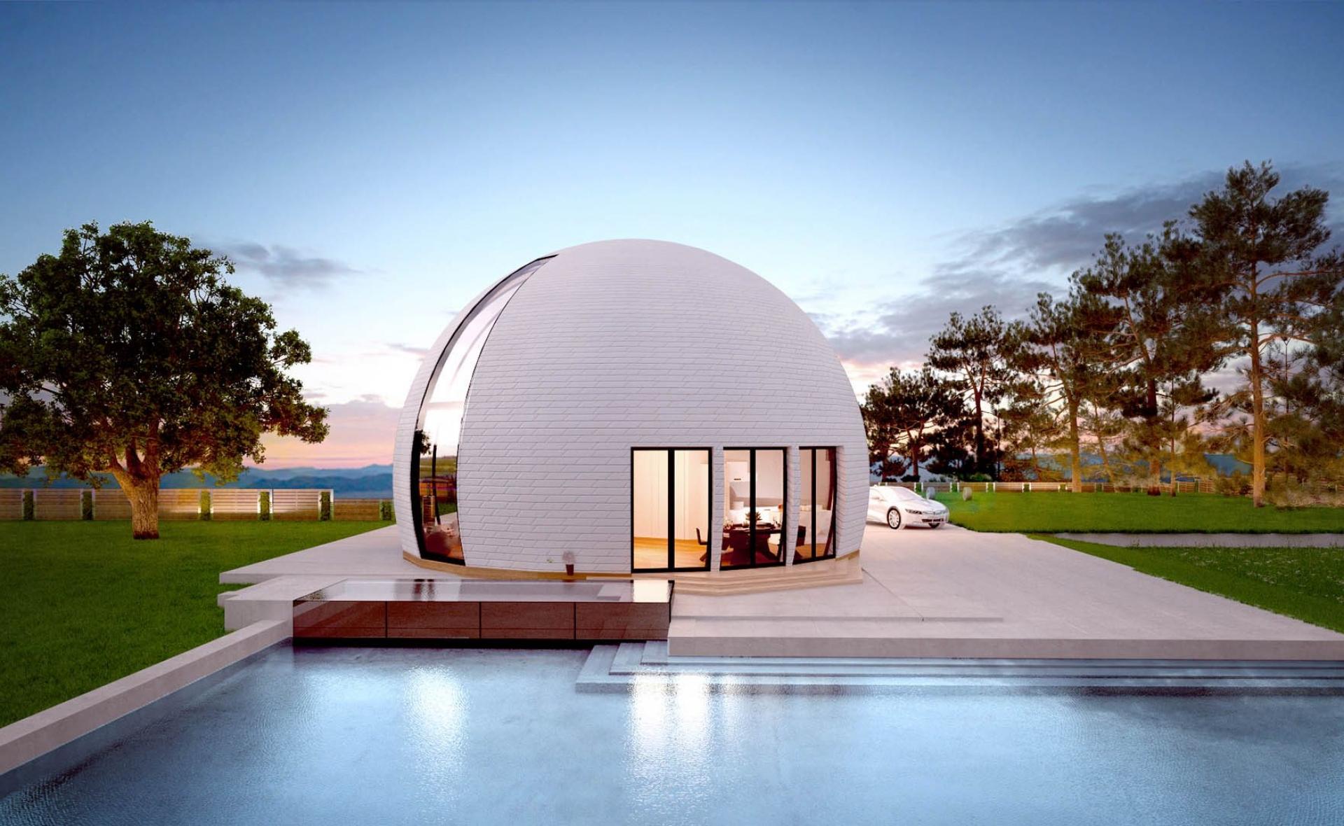 круглые купольные дома фото исследования