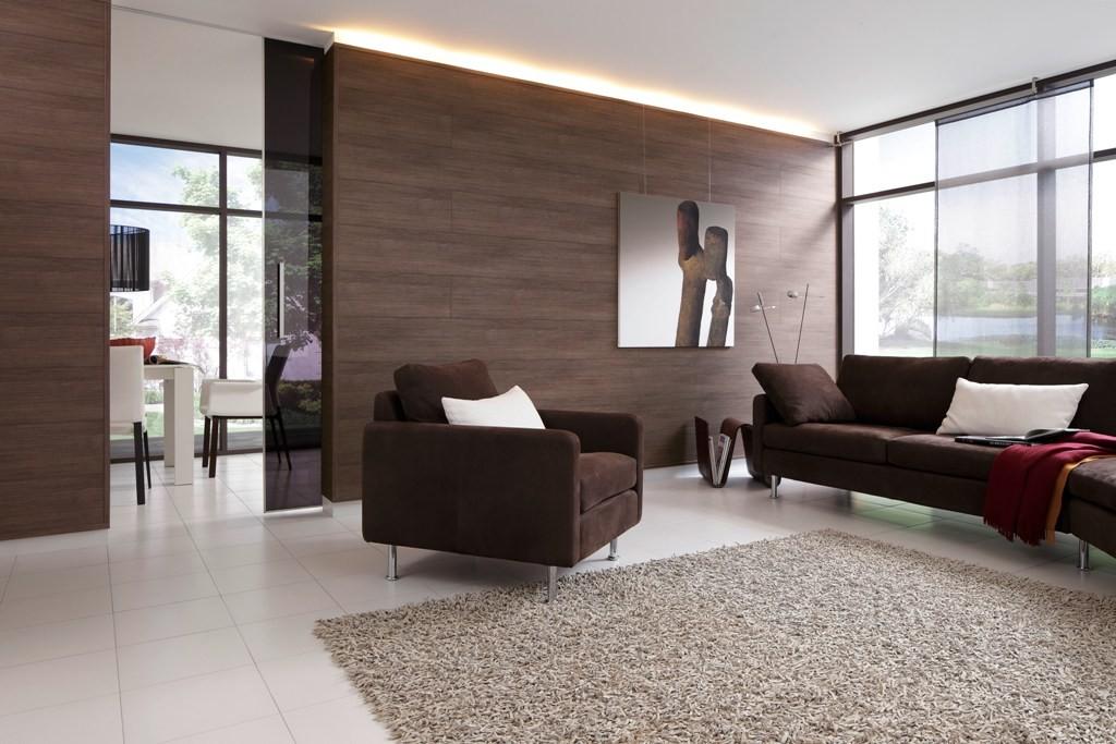 Варианты и особенности отделки стен ламинатом