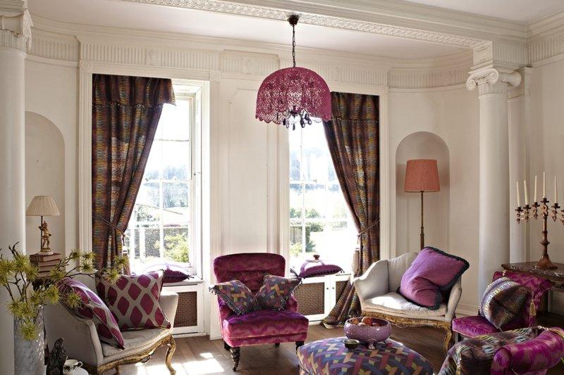 Нескучные шторы: как правильно выбрать красивые ламбрекены для разных помещений в доме
