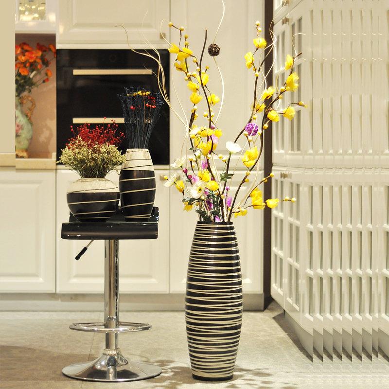 Большой шедевр своими руками: делаем напольную вазу для украшения дома