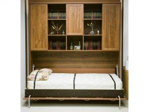 Откидные кровати: преимущества, виды, варианты размещения в интерьере
