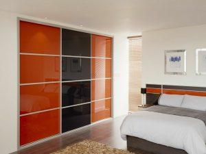 Раздвижные двери для гардеробной своими руками: какие зеркал.