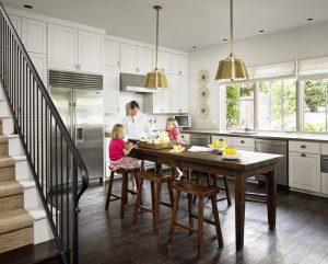 Кухонные острова с обеденной зоной: варианты дизайна и планировки