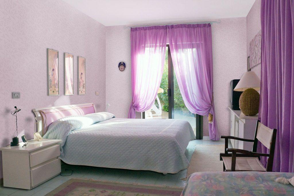 Портьеры и тюль для спальни