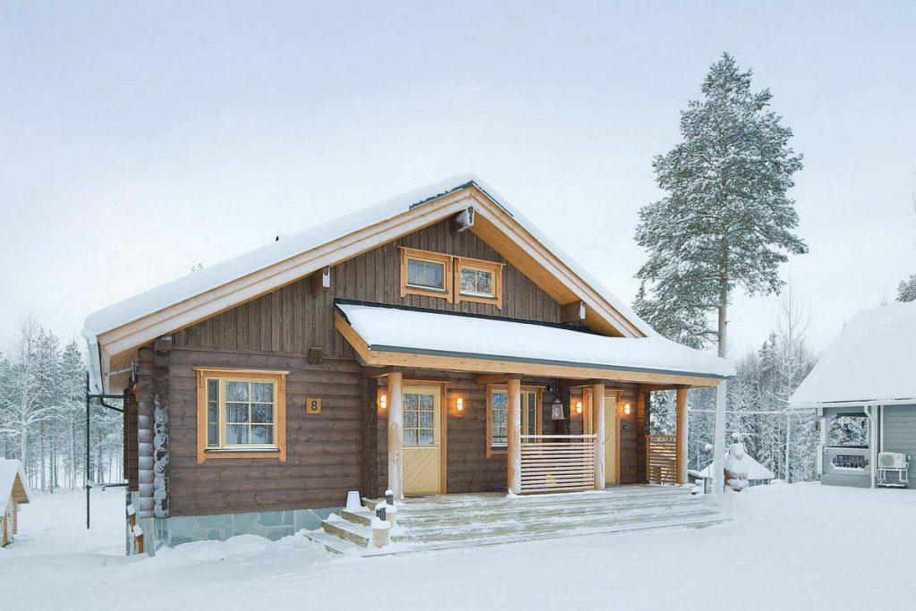 Современный финский домик
