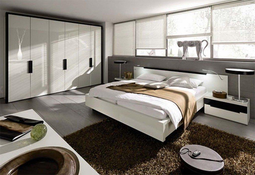 Спальня в стиле хай-тек
